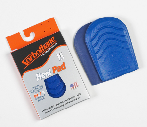 Sorbothane Heel Pad insoles are durable and 100% American-made.