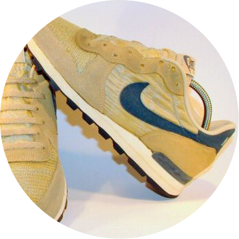 Nike running show that used Sorbothane