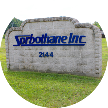 Sorbothane headquarters sign