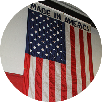 Made in America flag
